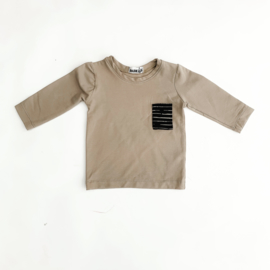 Fab Kids | Shirt Zand/Stripe