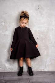 Fab Kids | Basic dress Black