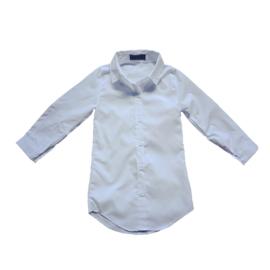 Basic Blouse Dress Wit