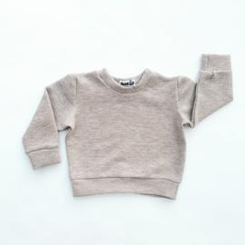 Fab Kids | Sweater Rib Beige Melagne