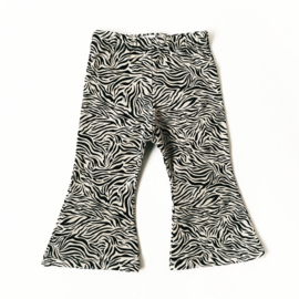 Fab Kids | Flared Legging Zebra Sand