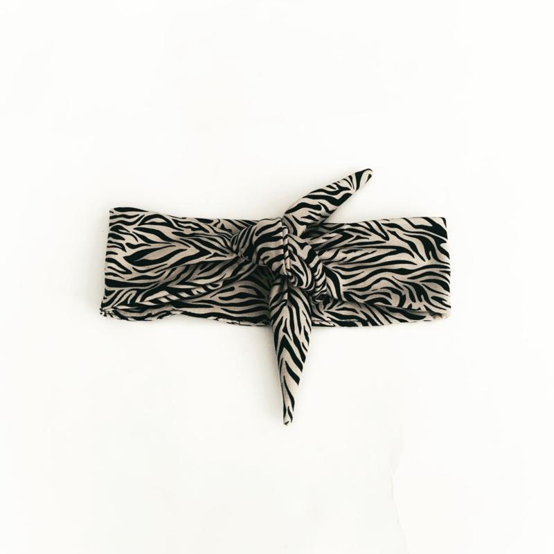 Fab Kids | Haarband Zebra Sand