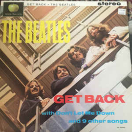 Beatles ‎– Get Back With Don't Let Me Down And 9 Other Songs (CD)