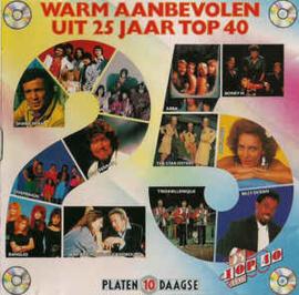Warm Aanbevolen Uit 25 Jaar Top 40 (CD)