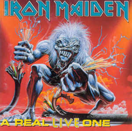 Iron Maiden ‎– A Real Live One (CD)