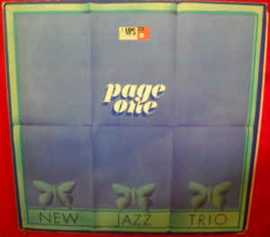New Jazz Trio ‎– Page One