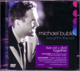 Michael Bublé – Caught In The Act (CD)
