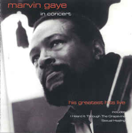 Marvin Gaye ‎– In Concert (CD)