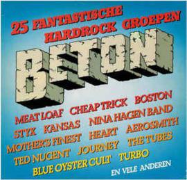 Various – Beton - 25 Fantastische Hardrock Groepen