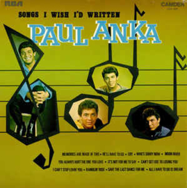 Paul Anka ‎– Songs I Wish I'd Written