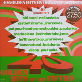 Various – 40 Golden Hits Of The Fifties