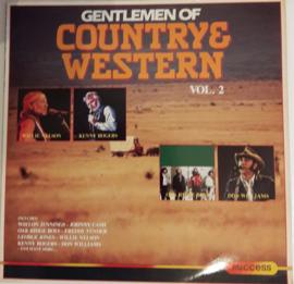 Various – Gentlemen Of Country & Western - Vol. 2