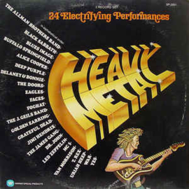 Various ‎– Heavy Metal - 24 Electrifying Performances