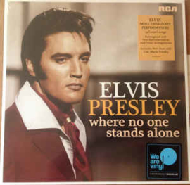 Elvis Presley ‎– Where No One Stands Alone (LP)