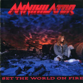 Annihilator – Set The World On Fire (CD)
