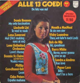 Various – Alle 13 Goed! Deel 7