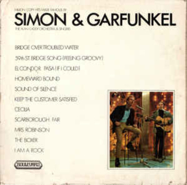 Alan Caddy Orchestra & Singers ‎– Million Copy Hits Made Famous By Simon & Garfunkel