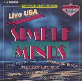 Simple Minds – Live USA (CD)
