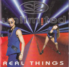 2 Unlimited ‎– Real Things (CD)
