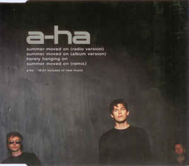 a-ha ‎– Summer Moved On (CD)