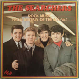 Searchers ‎– Rock Music From Britain Of The 60's - Vol. 1