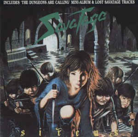 Savatage ‎– Sirens / The Dungeons Are Calling (CD)