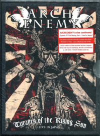 Arch Enemy – Tyrants Of The Rising Sun - Live In Japan (DVD)