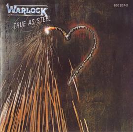 Warlock  – True As Steel (CD)