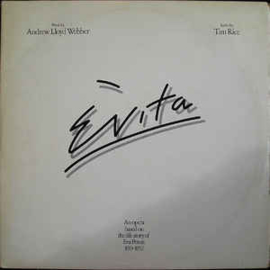 Andrew Lloyd Webber And Tim Rice ‎– Evita