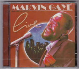 Marvin Gaye ‎– Live (CD)