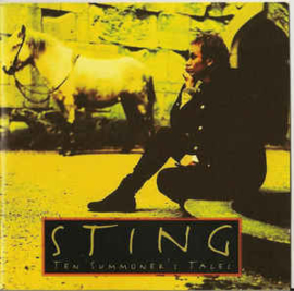 Sting ‎– Ten Summoner's Tales (CD)