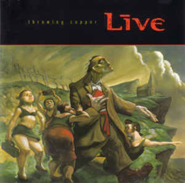 Live ‎– Throwing Copper (CD)