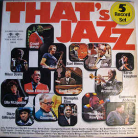 Various ‎– That's Jazz