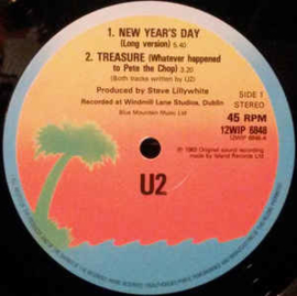 U2 – New Year's Day (Long Version)
