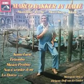 Marco Bakker – Marco Bakker In Italië