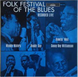 Various – Folk Festival Of The Blues