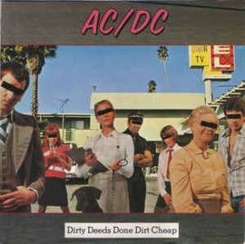 AC/DC ‎– Dirty Deeds Done Dirt Cheap (CD)