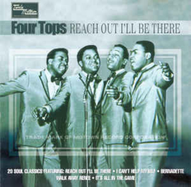 Four Tops ‎– Reach Out I'll Be There (CD)