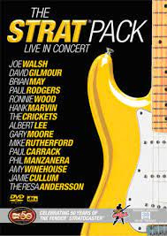 Various – The Strat Pack - Live In Concert (DVD)