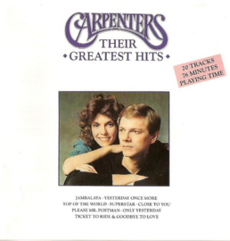 Carpenters – Their Greatest Hits (CD)