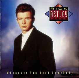 Rick Astley – Whenever You Need Somebody (CD)
