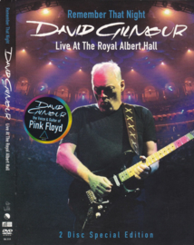 David Gilmour – Remember That Night (Live At The Royal Albert Hall) (DVD)