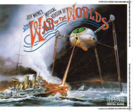Jeff Wayne ‎– The War Of The Worlds (CD)