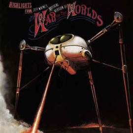 Jeff Wayne ‎– Highlights From Jeff Wayne's Musical Version Of The War Of The Worlds (CD)