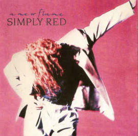 Simply Red ‎– A New Flame (CD)