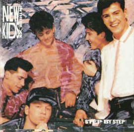 New Kids On The Block ‎– Step By Step (CD)