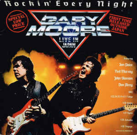 Gary Moore ‎– Rockin' Every Night - Live In Japan