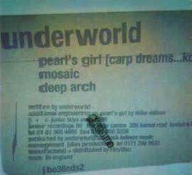Underworld – Pearl's Girl (Carp Dreams...Koi) (CD)