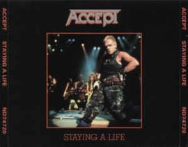 Accept – Staying A Life (CD)