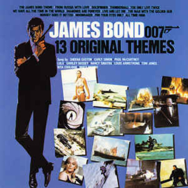 Various ‎– James Bond - 13 Original Themes (CD)